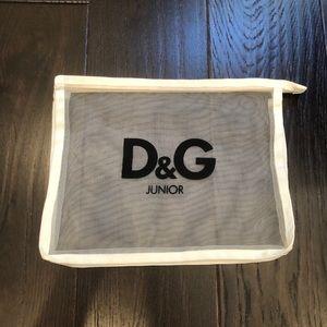 D&G junior net bag with zipper